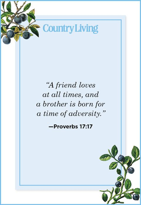 Quote from Proverbs 17:17