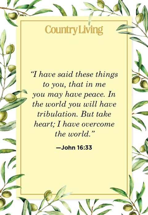 Quote from John 16:33