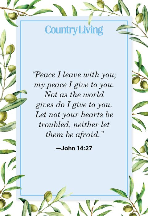 Bible Verses About Peace - Bible Verses about Serenity
