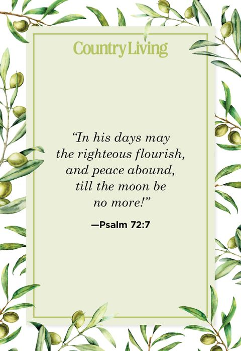 Quote from Psalm 72:7