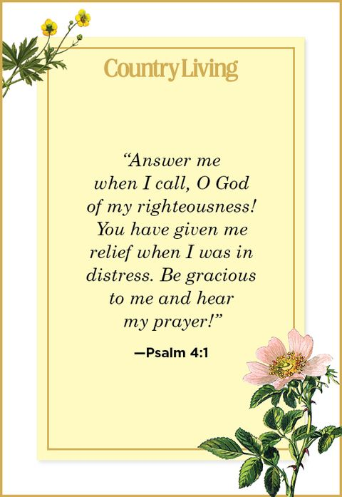Quote from Psalm 4:1