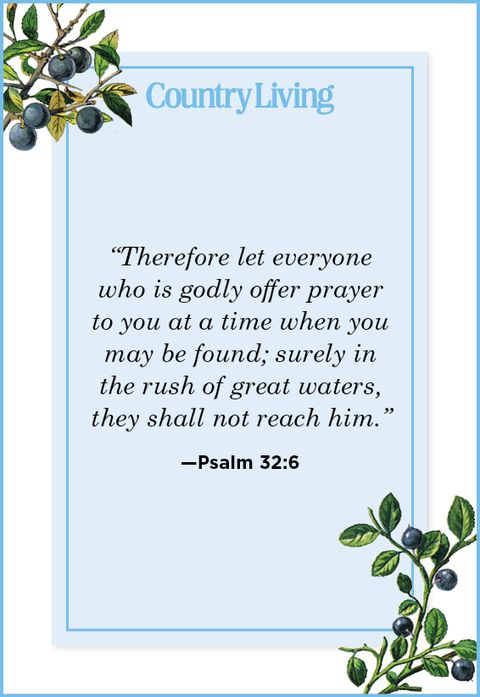 Quote from Psalm 32:6