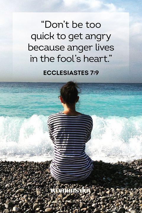 bible verses anger