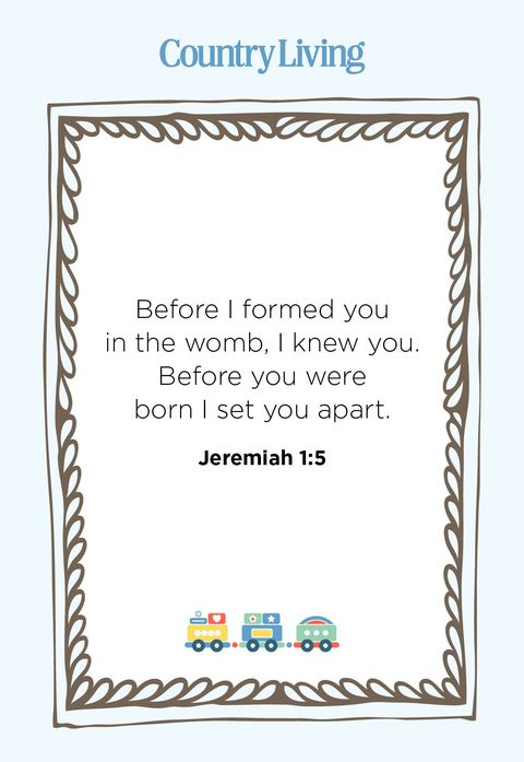 before i formed you in the womb, i knew you before you were born i set you apart 