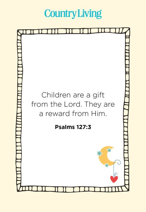 bible verses for babies
