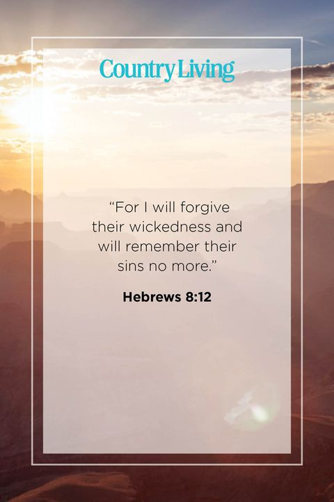 Quote from Hebrews 8:12