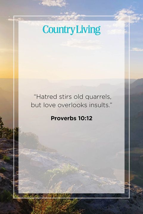 Quote from Proverbs 10:12