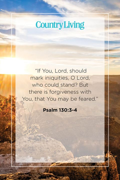 Quote from Psalm 130:3-4