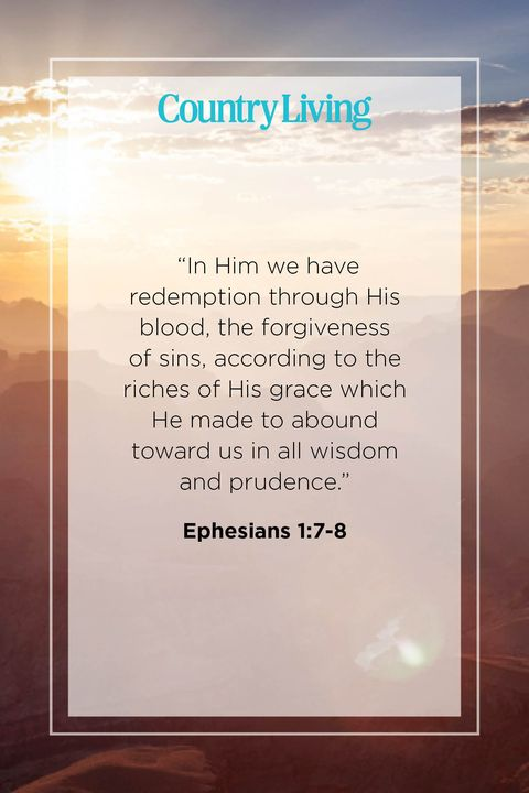 Quote from Ephesians 1:7-8