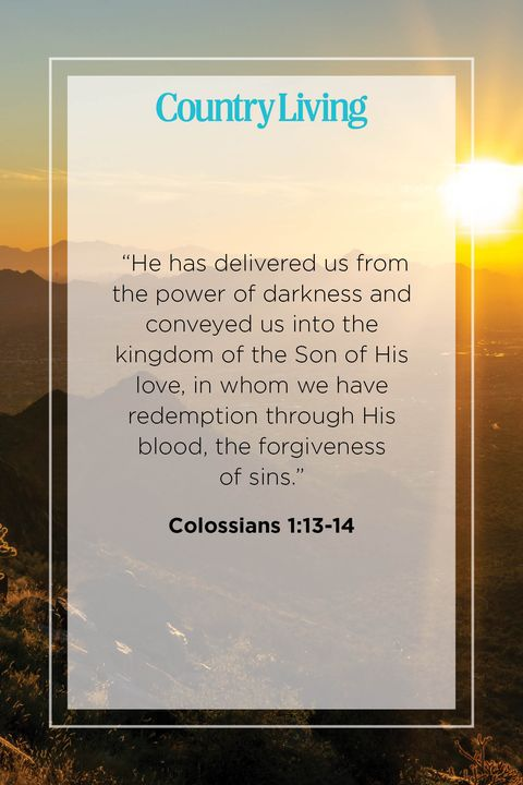Quote from Colossians 1:13-14