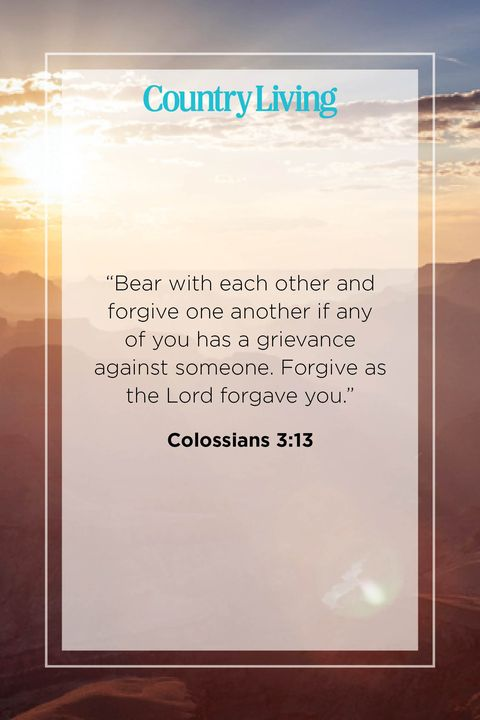 Quote from Colossians 3:13