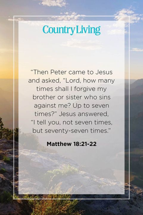 Quote from Matthew 18:21-22