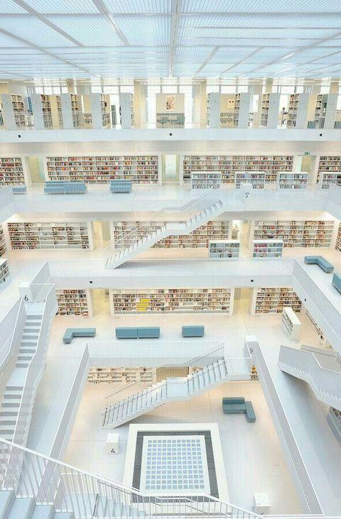 Biblioteca de Stuttgart, Alemania