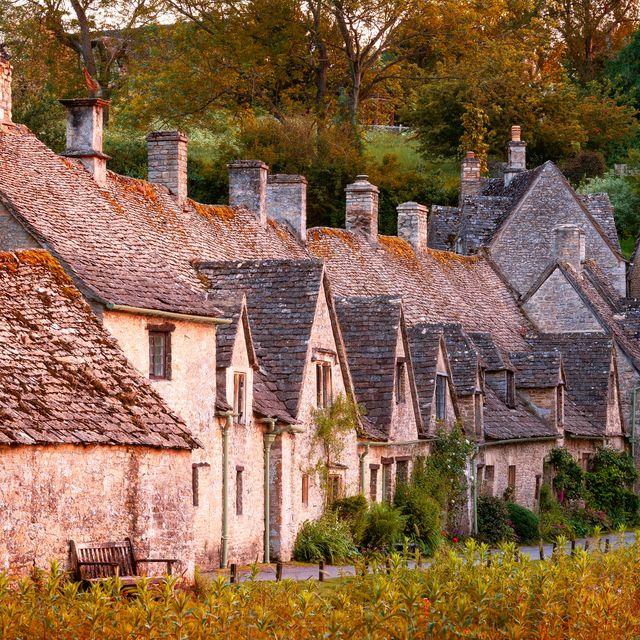 bibury, arlington row, gloucestershire, england
