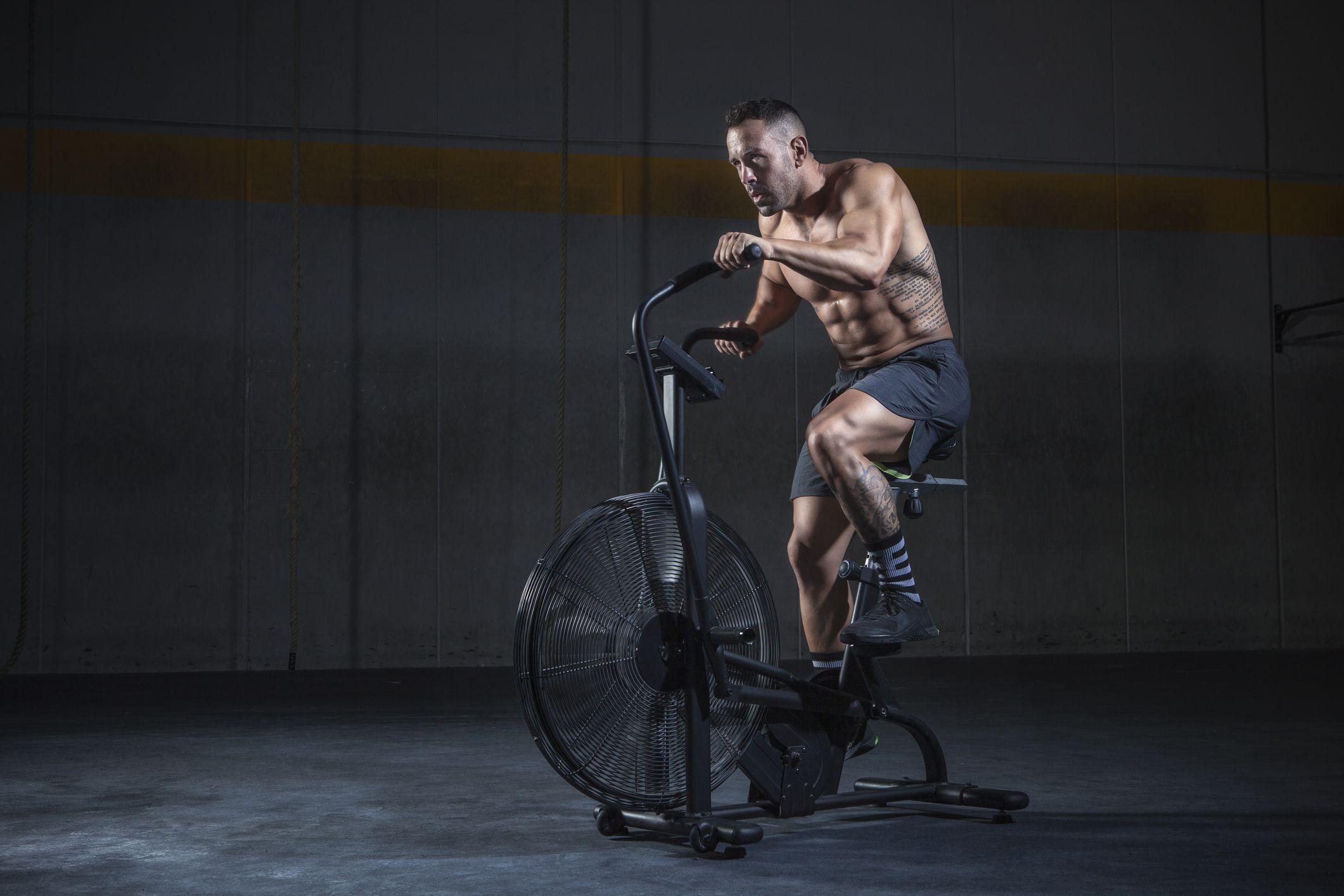 Como perder peso en la bicicleta estatica