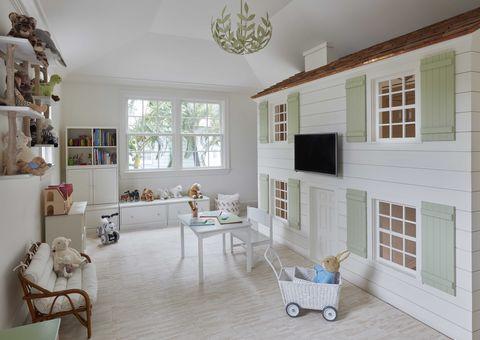 dollhouse, kids playroom