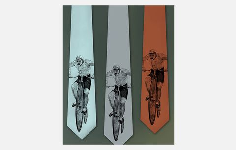 Bicycle Neck Tie