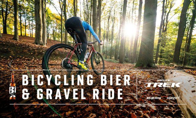 bicycling bier  gravel ride – powered by trek