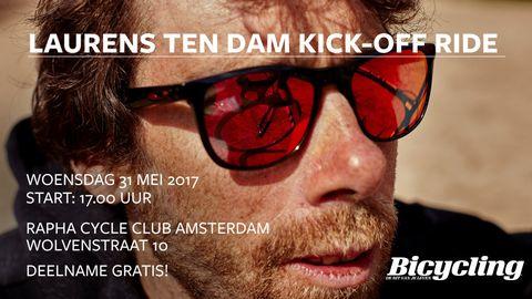bicycling, kick-off, ltd, laurens, ten dam, facebook, event, amsterdam, gratis