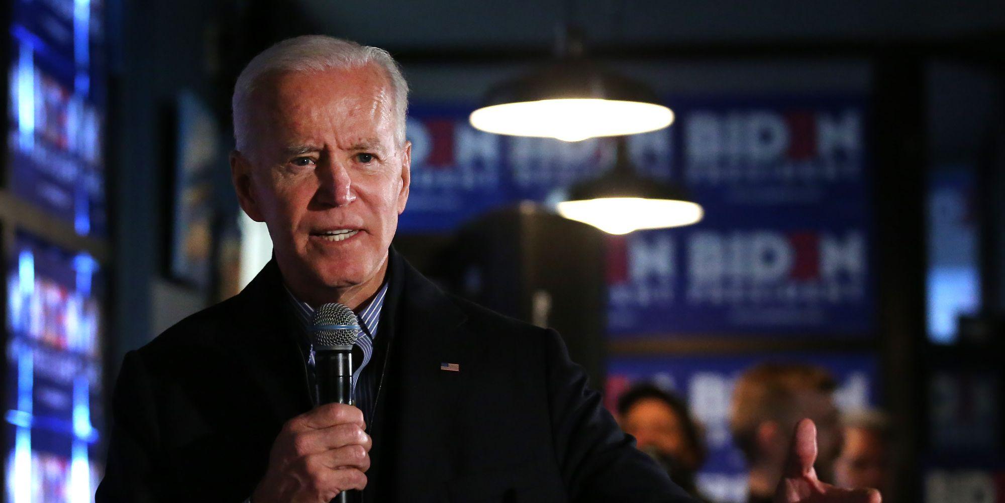 Objection, Joe Biden.