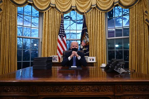 Joe Biden's Oval Office: The New President's Office ...