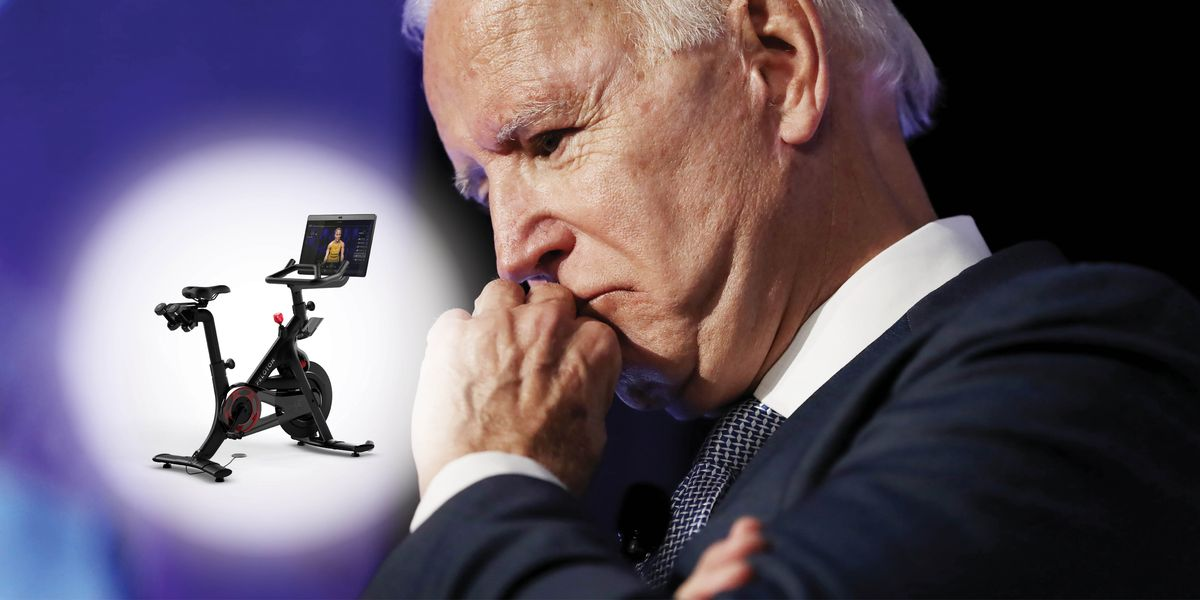 Why Joe Biden Can't Bring His Peloton to the White House