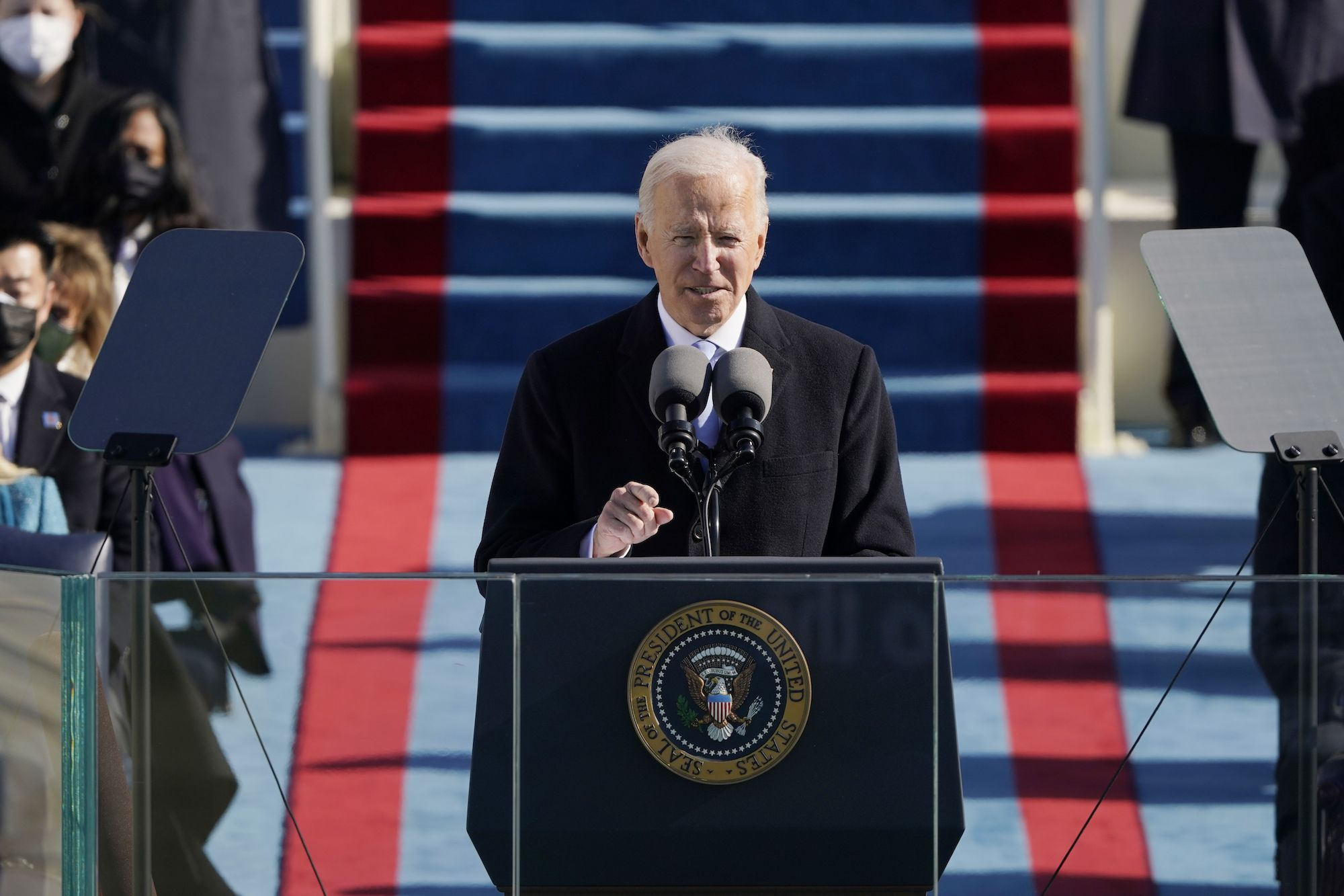 There Were Barbs Beneath Joe Biden's Message of Unity, and They Were Meant for Ted Cruz