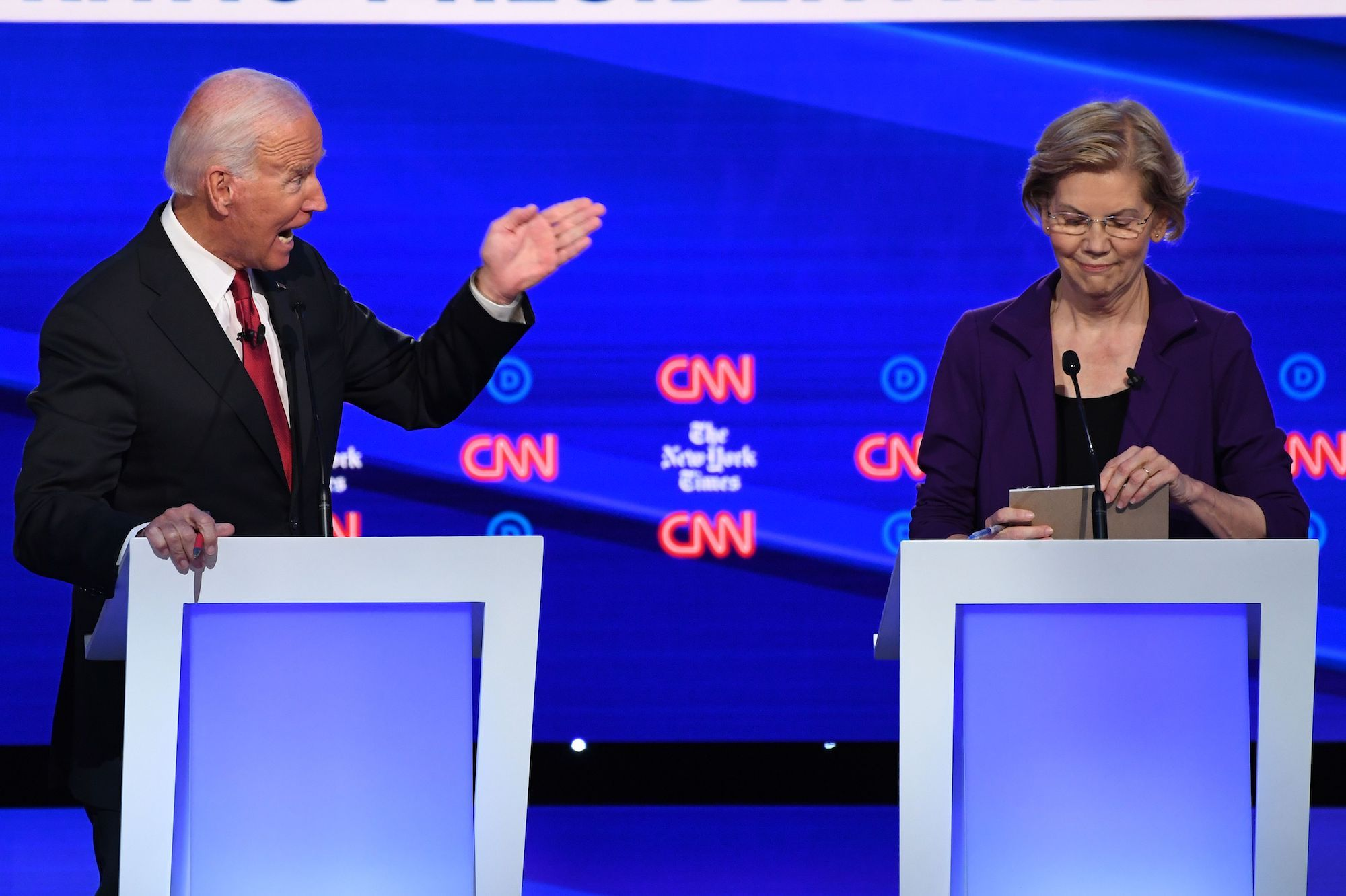 Joe Biden's Spat With Elizabeth Warren Was Uncomfortable and Weird, But It Could Have Gotten Ugly