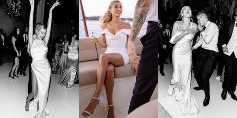 Fashion model, Photograph, White, Clothing, Dress, Leg, Fashion, Wedding dress, Gown, Footwear,