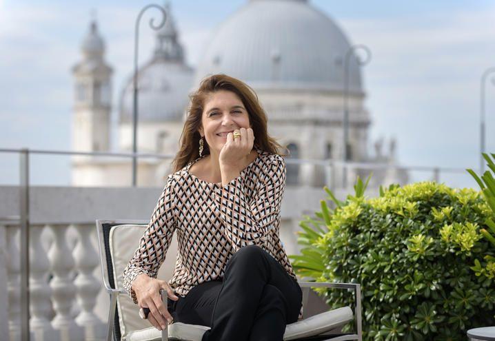 CHRISTINE MACEL, DIRETTORE DELLA 57. ESPOSIZIONE INTERNAZIONALE D'ARTE DELLA BIENNALE DI VENEZIA
