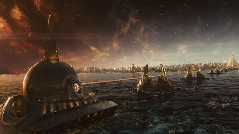Sky, Strategy video game, Pc game, Screenshot, Space, Digital compositing, Atmosphere, Games, Night, World,