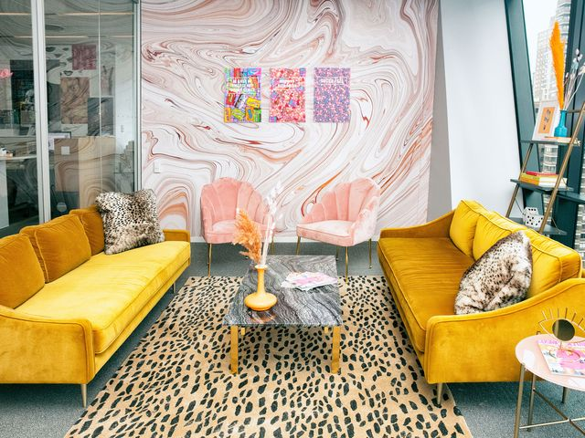 Fine See The Decor And Furniture Inside Cosmopolitans Office Pabps2019 Chair Design Images Pabps2019Com