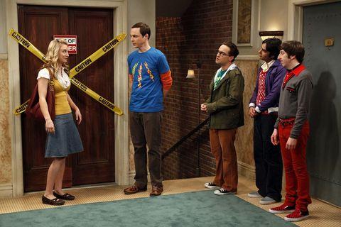 Big Bang fallos guion