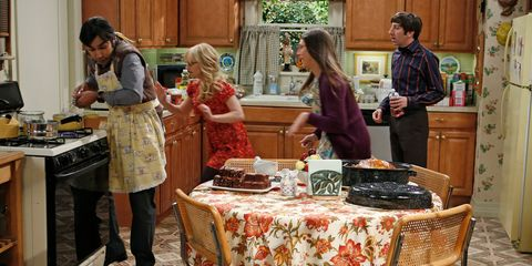 """The Thanksgiving Decoupling"" — The Big Bang Theory (Season 7, Episode 9)"