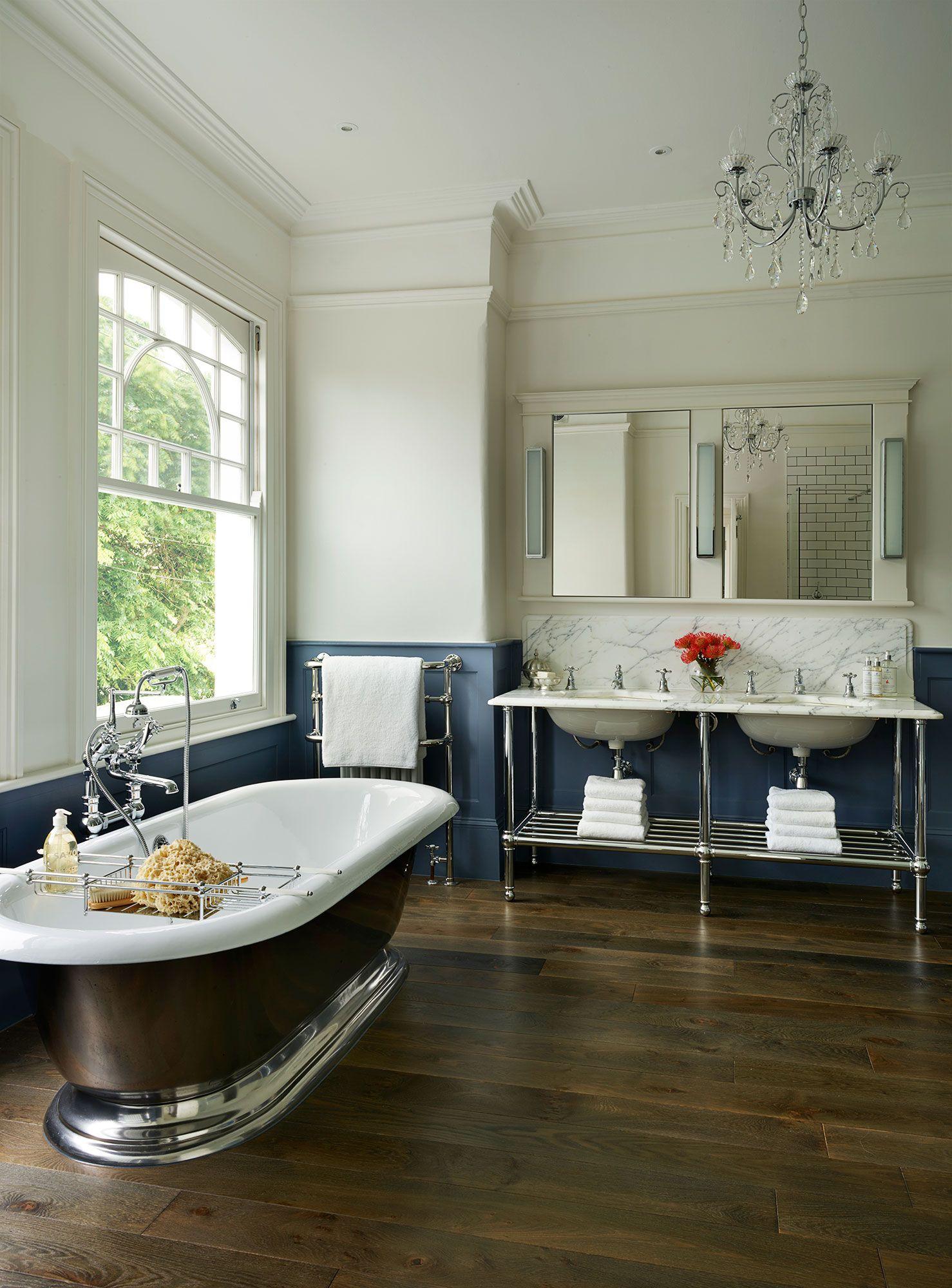 DIY Bedroom or bathroom vignette idea