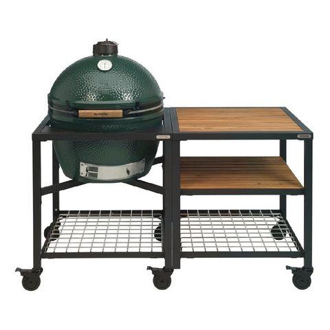 big green egg buitenkeuken grid met 2xl kamado barbecue