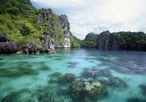 big lagoon at miniloc island