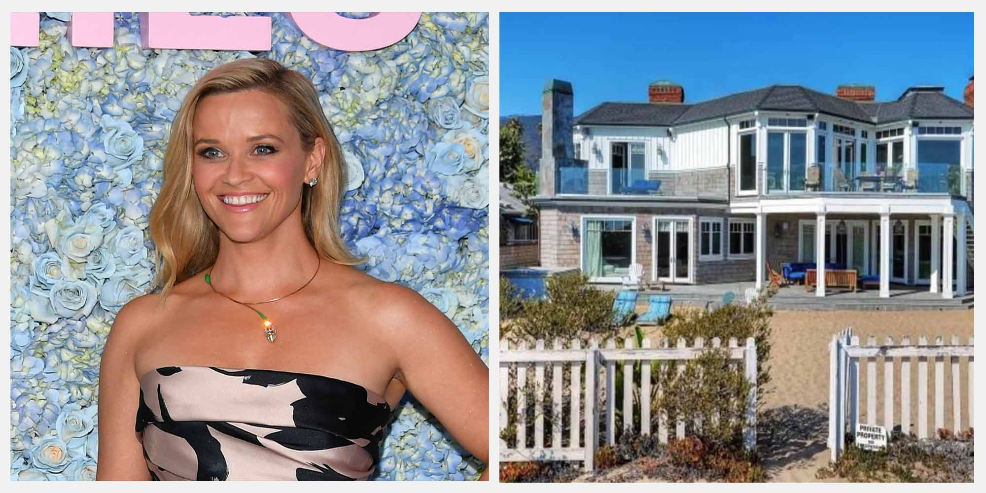 Reese Witherspoon's Gorgeous Big Little LiesMansion in Malibu is Available to Rent