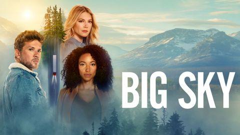 imagen promocional de big sky, la serie de star