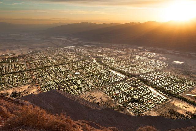 telosa, città del futuro