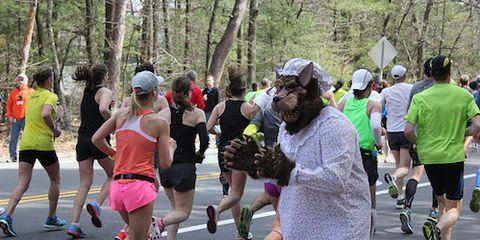 Big Bad Wolf at Boston Marathon