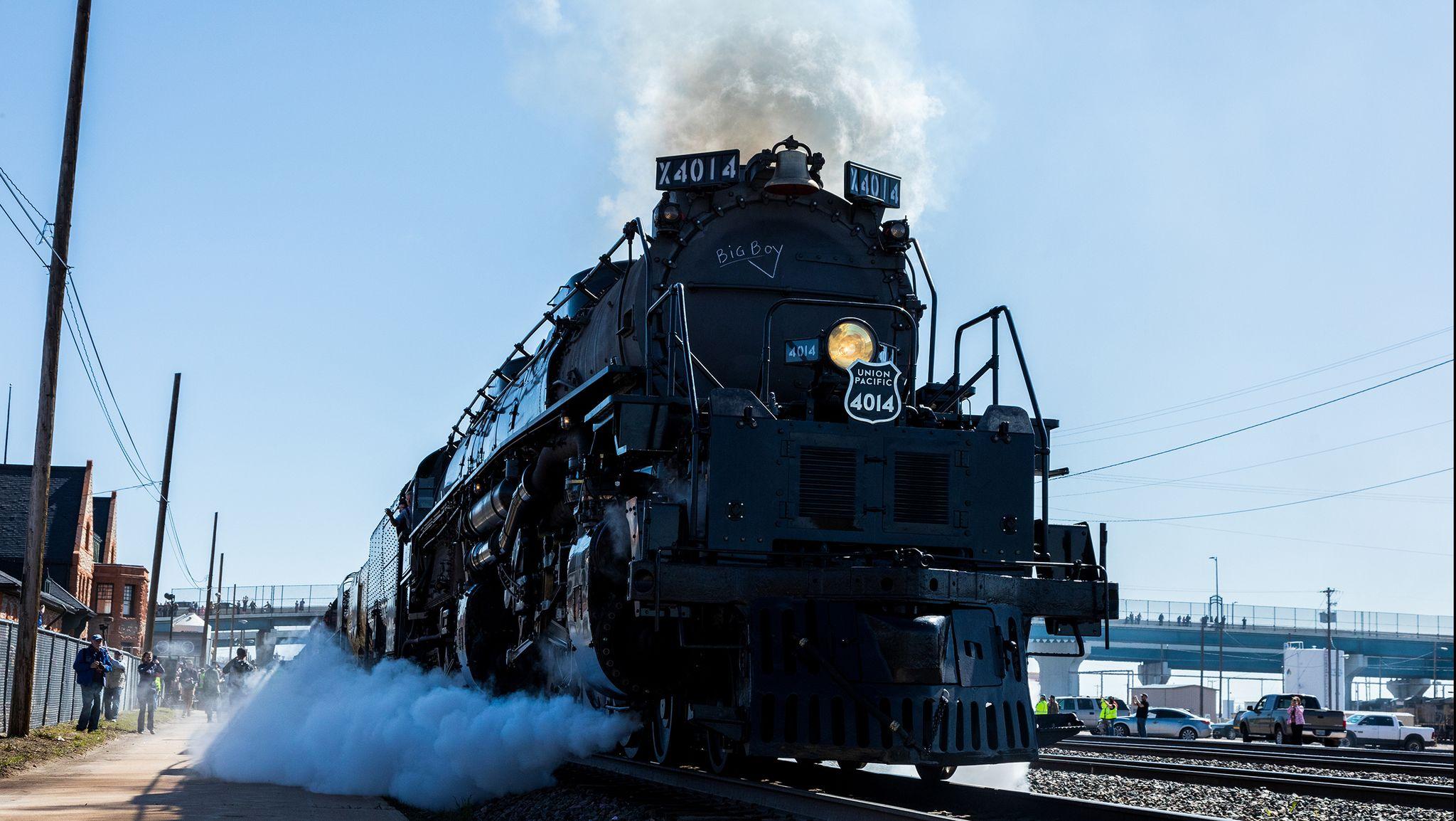 Why the Big Boy 4014 is Such a Badass Train