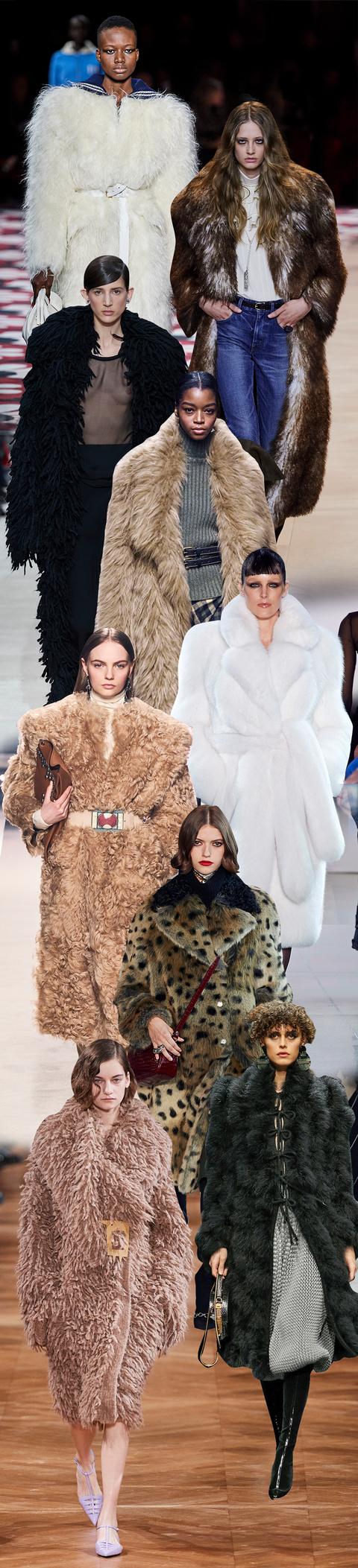 Fur clothing, Fur, Fashion, Clothing, Fashion model, Haute couture, Skin, Fashion show, Outerwear, Textile,