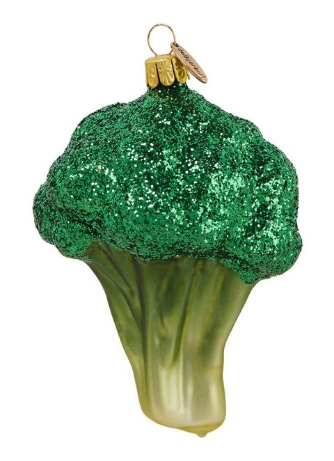 Green, Holiday ornament, Christmas ornament, Ornament, Broccoli, Fashion accessory, Plant, Vegetable, Christmas decoration, Interior design,