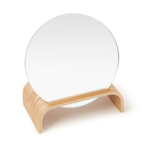 hkliving willow wooden mirror stand