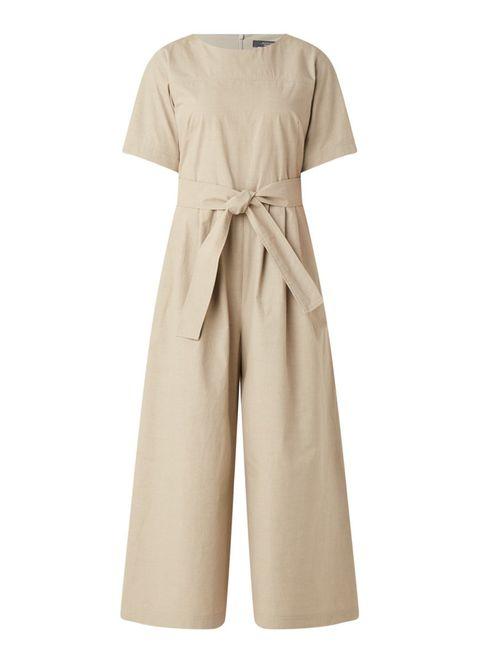 Clothing, Dress, Sleeve, Khaki, Beige, Robe, Outerwear, Neck, Belt, Trousers,