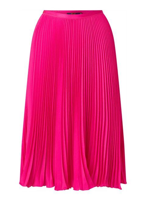 Clothing, Pink, Magenta, Fashion, A-line, Waist, Pencil skirt, Sportswear, Dress, Tennis skirt,