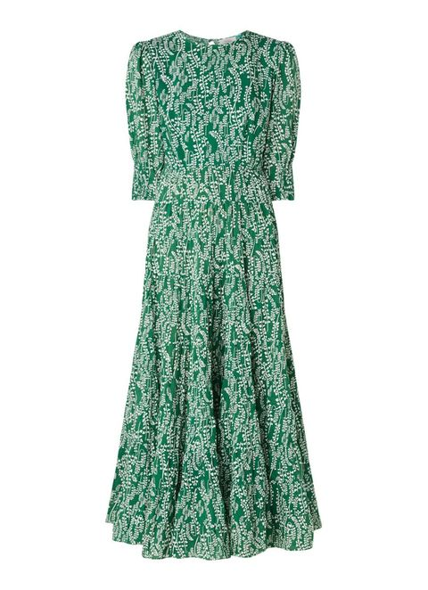 Clothing, Dress, Day dress, Green, Sleeve, Aqua, Turquoise, Gown, A-line, Cocktail dress,