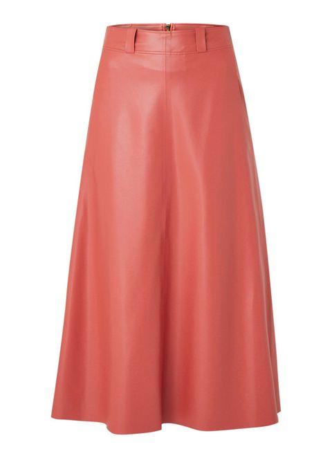 Clothing, Pink, A-line, Fashion, Waist, Dress, Skort, Peach,