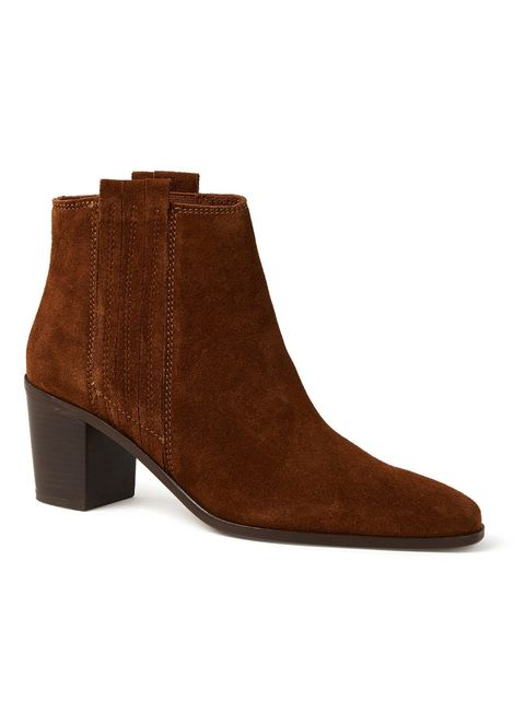 Footwear, Brown, Tan, Boot, Leather, Shoe, Suede, Beige, Maroon, High heels,